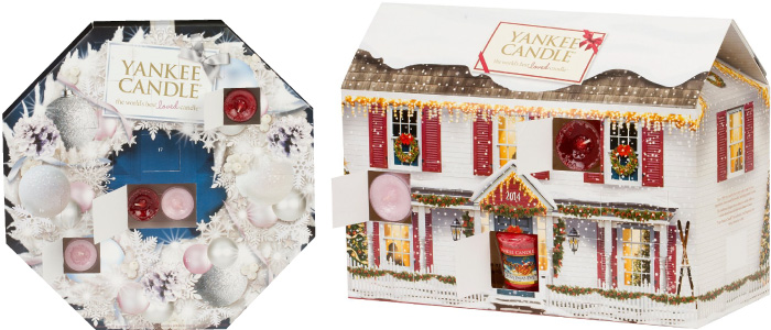 yankee candle adventskalender haus geschenkedition