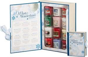 yankee candle weihnachtsgeschenke geschenkbuch sampler
