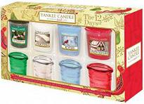 yankee candle weihnachtsgeschenke set 12 days christmas sampler