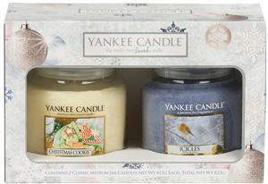 yankee candle weihnachtsgeschenke-set 2014 medium jars