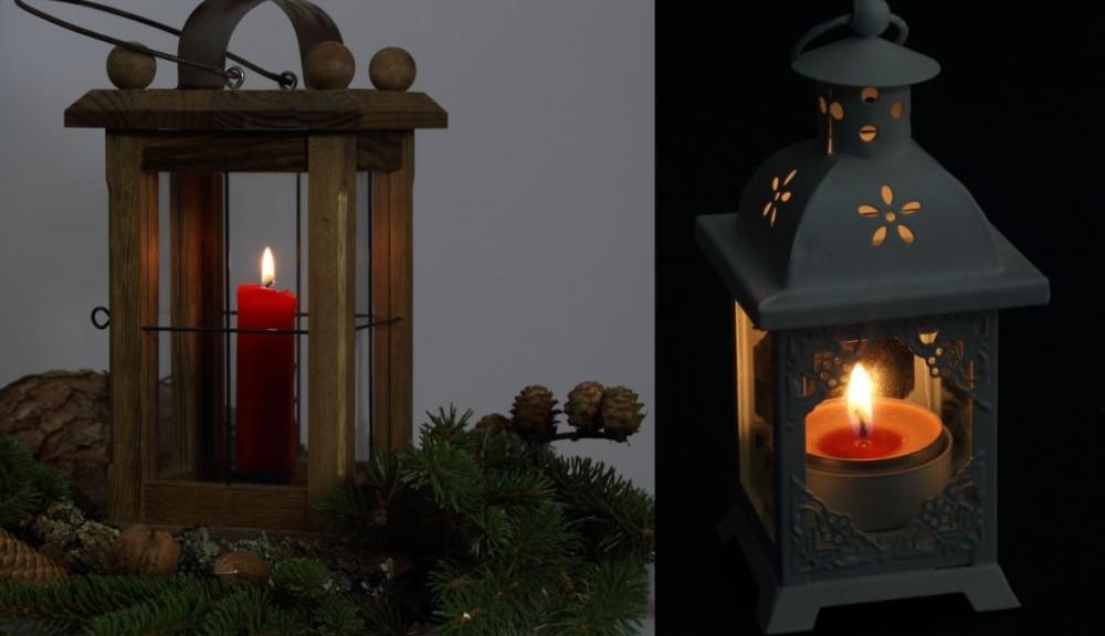 Kerzen Laterne Fur Die Weihnachtliche Stimmung
